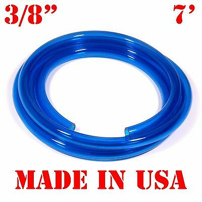 "7 Feet of BLUE 3/8""(9.5mm) id Water Cooling Hose Fast Flow Fuel Line for Jetskis"