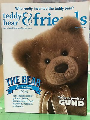 Teddy Bear And Friends Magazine March 2016