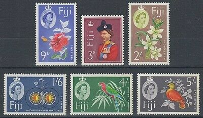FIJI 1962 PART SET (5 values) MINT TO 5/- (ID:209/D41812)