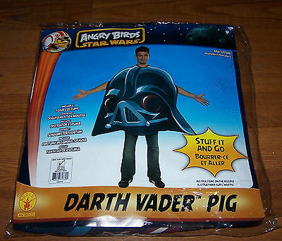 One Size Mens Angry Birds Star Wars Darth Vader Pig Adult Costume