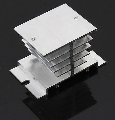 Aluminum Heatsink heat sink for SSR Solid State Relay Heat Dissipation60*50*50mm