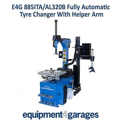 Fully Automatic Car Tyre Changer  with Fitting Assister 885ITA/AL320B