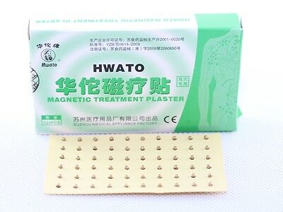 Hwato Acupuncture Ear Point Magnetic Plasters 100 Gauss 120pcs/box