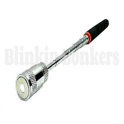 Magnetic Pick Up Tool Long Reach Extending Telescopic With Led Light Torch 19A