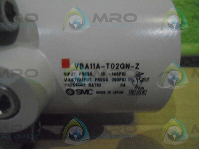 Smc Vba11A-T02Gn-Z *new In Box*
