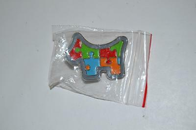 Scotty Cameron 2014 Members Sticker and Pin NEW Puzzle Dog