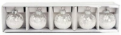 Set Of 6 Bauble Christmas Dinner Table Seating Name Placecard Holders