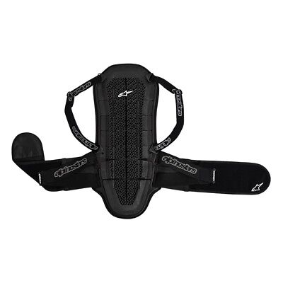 Alpinestars Bionic Air Motorcycle Back Armour Protection - Black
