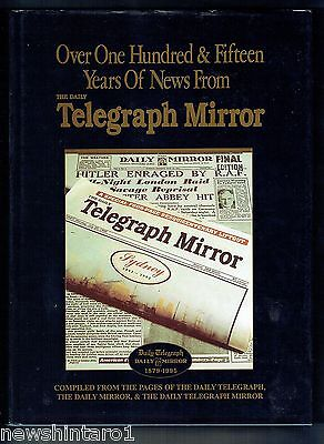 #aa9. Two  Large  Australian  Newspaper  History  Books - Telegraph  & Herald