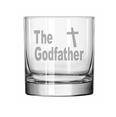 11oz Rocks Whiskey Highball Glass The Godfather