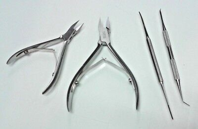 Ingrown Nail CLIPPERS Straight jaws Podiatry Instruments hands and foot care set