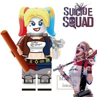 1pc Harley Quinn Minifigures Building Blocks Toy Suicide Squad Custom Lego #257
