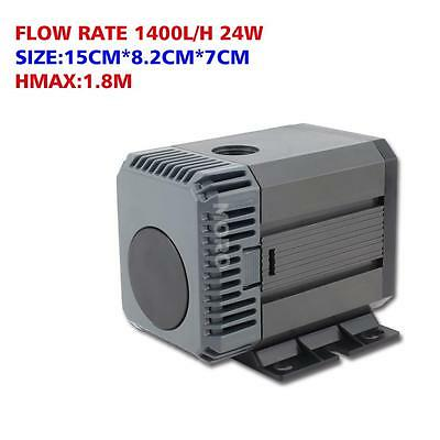 1400-5000LPH Submersible Aquarium Water Pump F Small Fountain Pond Tank Pool OZ