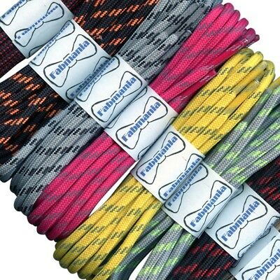 Hiking Boot Laces -  Strong round laces  - Walking Shoelaces - 90 cm - 240 cm