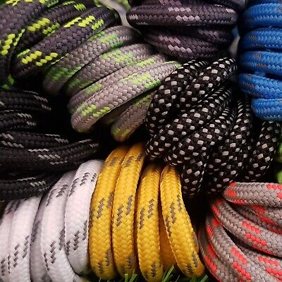 Round Boot Laces - 3.5 mm - Ideal for Hiking, Walking, Sports shoelaces
