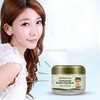 Deep Cleanse Clay Mask Whitening CarBonated Bubble Oxygen Mud Moisturizing HOT