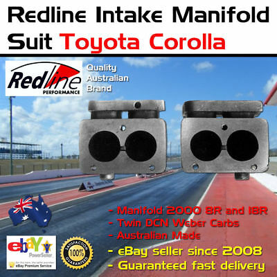 New Intake Inlet Manifold Toyota 18R 8R 2 x 40 DCN Weber