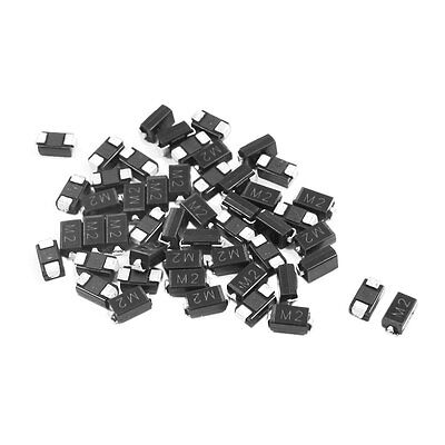 Electric Components DO-214AC 100V 1A Rectifier Diode M2 50pcs