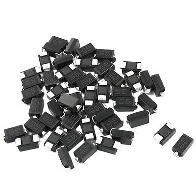 50x DO-214AC 200V 1A SMT High Efficiency Diode US1D for Switching Power Supply
