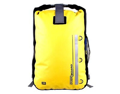 Overboard Classic 30L Yellow Waterproof Backpack Rucksack Motorcycle Biker