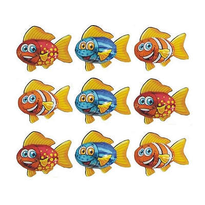 25 Chocolate Fish-Kids Birthday Fishing Theme Parties Lolly Gift Bags Promotions