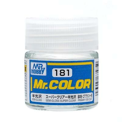 MR HOBBY Color C181 Super Clear (Semi Gloss / Primary) 10ml US Model Kit Paint