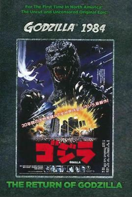 Godzilla 1985: The Legend Is Reborn New Region 1 Dvd