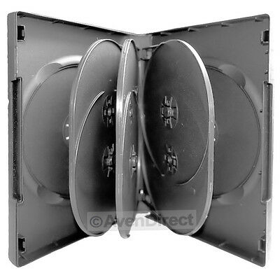 1 Pack Black DVD Case Hold 8 Discs With Tray 27mm [FAST FREE SHIPPING]