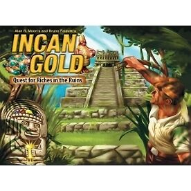 Incan Gold 2nd Edition Game - Brand new!