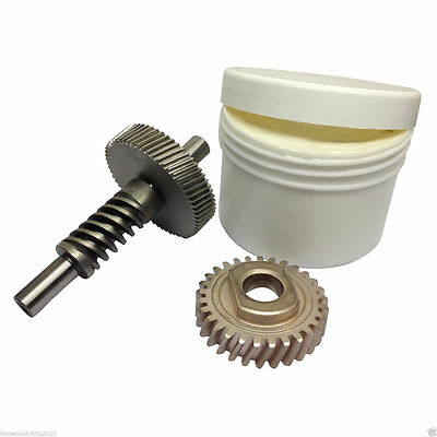 Kitchenaid 6QT Stand Mixer Worm Gear & Follower Includes 130g of Foodsafe Grease