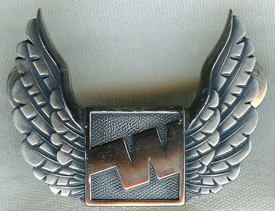 Late 1970's Western Airlines Pilot Hat Badge