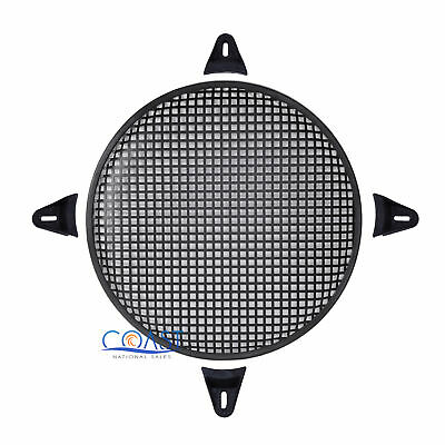 """6/"""" SubWoofer Metal Mesh Cover Waffle Speaker Grill Protect Guard DJ Car Audio"""