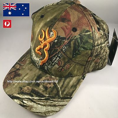 Browning Camouflage Hunting Cap summer hat realtree camo unisex adult headwear