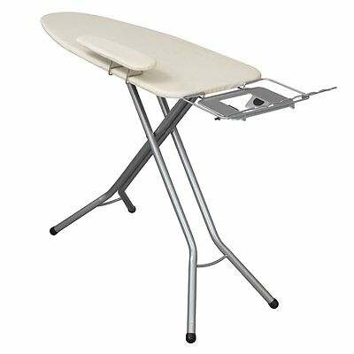 Household Essentials 971840-1 Fibertech Mega Pressing Station Ironing Board, Sat