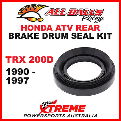 30-7601 Honda Atv Trx200D Trx 200D 1990-1997 Rear Brake Drum Seal Kit