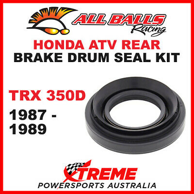 30-6701 Honda Atv Trx350D Trx 350D 1987-1989 Rear Brake Drum Seal Kit