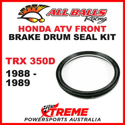 30-20301 Honda Atv Trx350D Trx 350D 1988-1989 Front Brake Drum Seal Kit