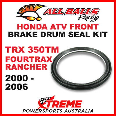 30-22001 Honda Atv Trx350Tm Fourtrax Rancher 2000-2006 Front Brake Drum Seal Kit