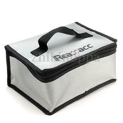 Lipo Battery Fireproof Storage Bag Guard Safe Bag 20x11x15cm for Drone Car Boat