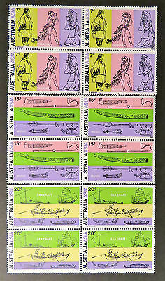 1971 Australian Stamps-28th Int'l Congress of Orientalists - Set of 3 x 4 MNH
