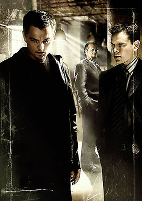 The Departed (2006) - A1/A2 POSTER **BUY ANY 2 AND GET 1 FREE OFFER**