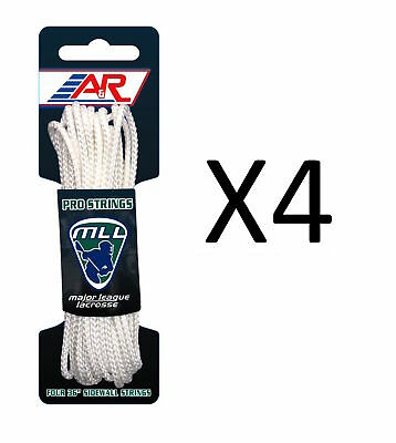 "A&R Sports Major League Lacrosse Four 36"" Lightweight Sidewall String (4-Pack)"