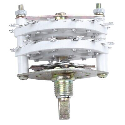 Band Channael Rotary Switch 2P11T 2 Pole 11 Position Dual Deck CP