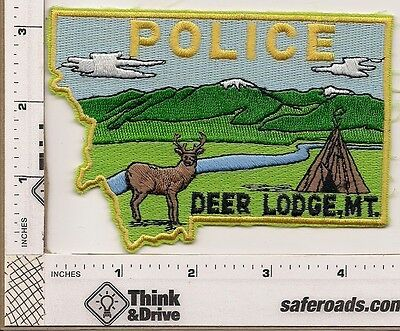 Deer Lodge Police. Montana.