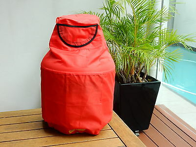 Gas Bags. 9kg gas Bottle Covers. Safety Red