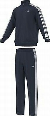 adidas X20566 Eat 3S Woven Tracksuit Tracksuit 100% Polyester blue