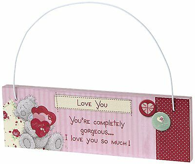 Me to You Sentimental Tatty Teddy Wall/ Door Hanging Plaque