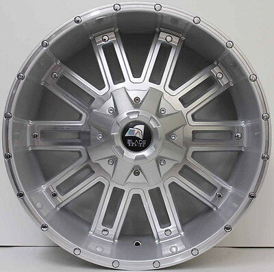 20 inch GENUINE BLADE SERIES 1  4X4 SUV NEW RELEASE ALLOY WHEELS (10179) SILVER