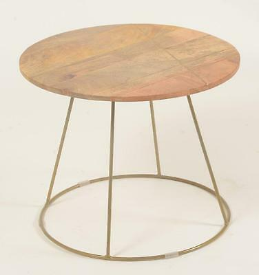 Coffee Table - Retro / Vintage Style 1950s / 1960s Inspired - Solid Wood - 50cm