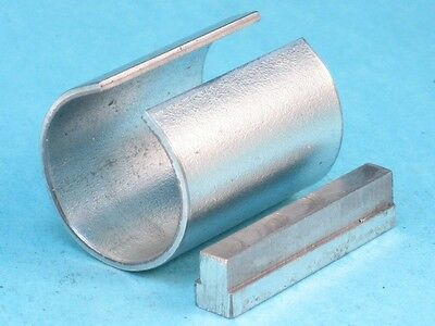 """7/8"""" X 1"""" X 1-1/4"""" L Shaft Adapter Pulley Bore Reducer Sleeve Bushing & Step Key"""